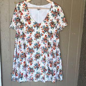Show me your Mumu Kylie floral mini dress